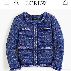 J.Crew Women's Size:0 Tweed Lady Jacket Blazer